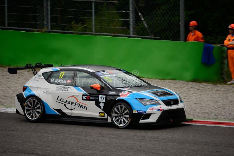 Les séries internationales de TCR POSENT le ³ n de Leà à Monza 2015 image stock