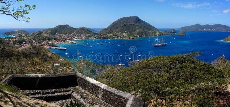 Les Saintes w Guadeloupe obrazy stock