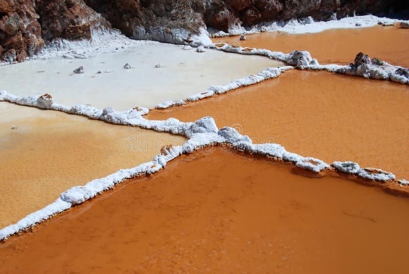 Les Salinas de Maras fotos de archivo libres de regalías