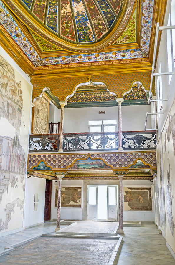 Download Les Salles Du Palais De Hafsid Photographie éditorial - Image du construction, tourisme: 77159047