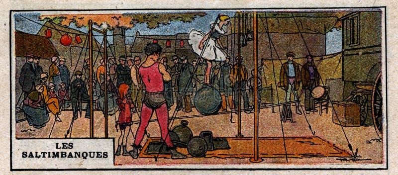 Les Saltimbanques Free Public Domain Cc0 Image