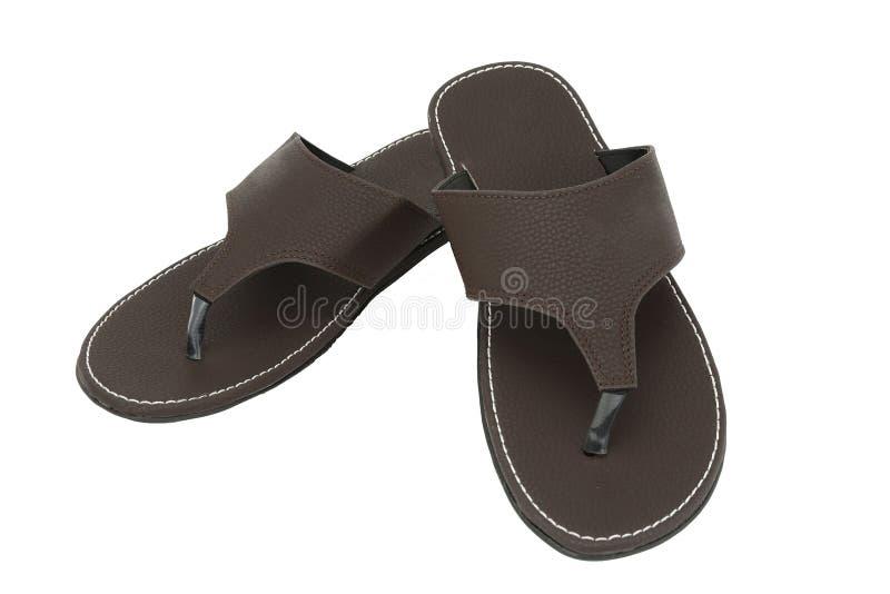 Les sandales des hommes photos libres de droits