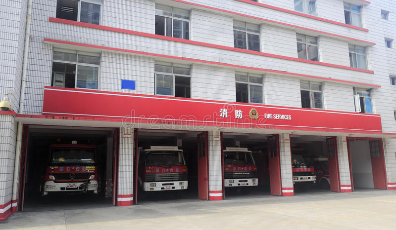 Les sapeurs-pompiers photographie stock libre de droits