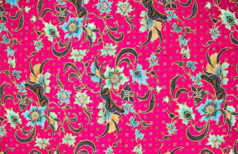 Les sarongs de batik modèlent le fond en Thaïlande, batik traditionnel photos stock