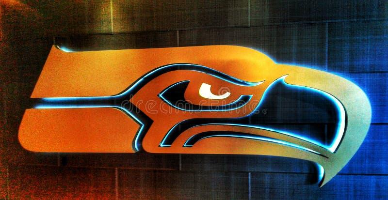 Les Seattle Seahawks photo libre de droits