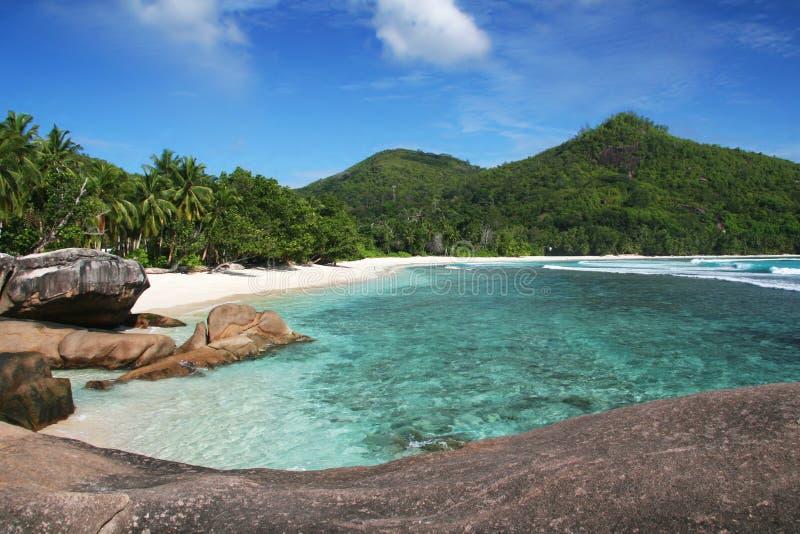 les Seychelles image libre de droits