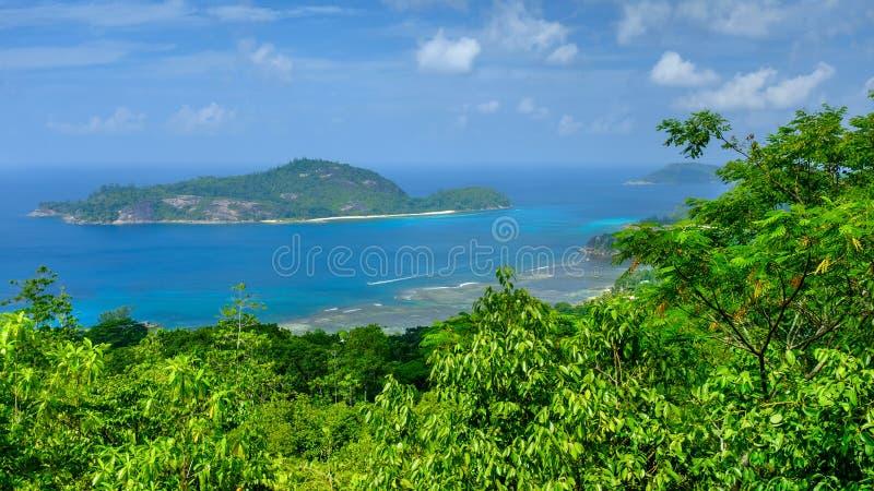 Les Seychelles, l'Océan Indien image libre de droits