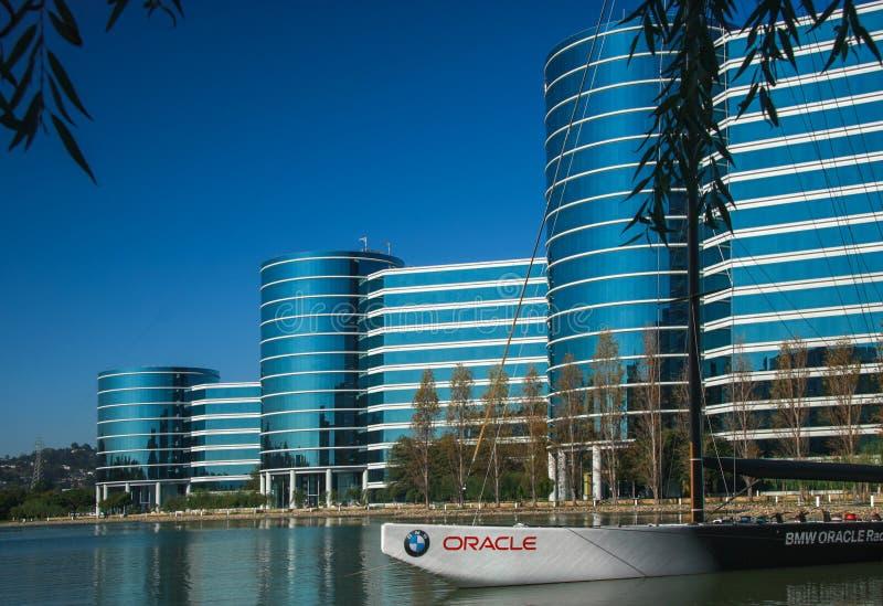 Les sièges sociaux d'Oracle images stock