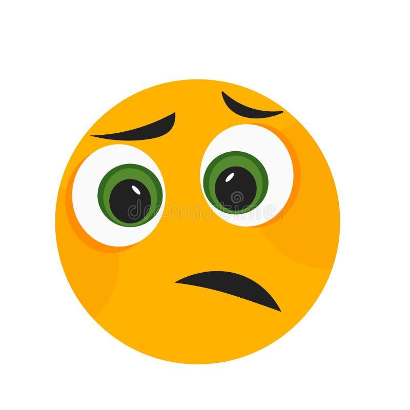 Les sourcils sourient signe de vecteur d'icône et le symbole d'isolement sur le fond blanc, sourcils sourient concept de logo illustration de vecteur