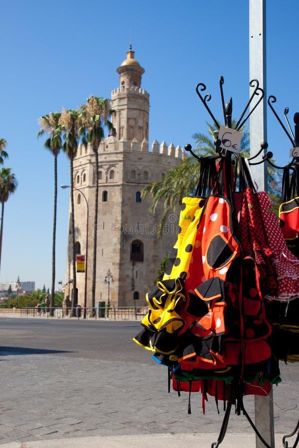 Les souvenirs de Séville photos libres de droits