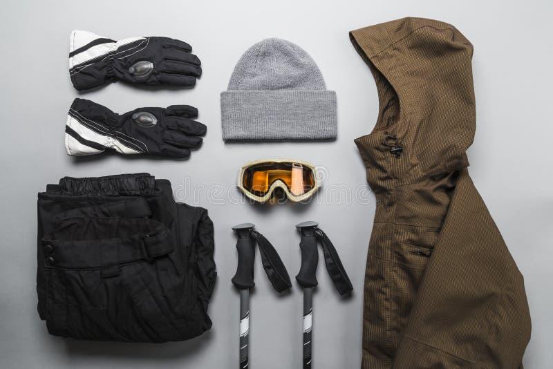 Les sports d'hiver embrayent la s?lection image stock