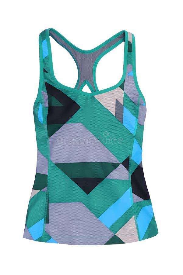 Les sports modernes complètent dans bleu, vert et la sarcelle d'hiver, d'isolement sur le CCB blanc image stock