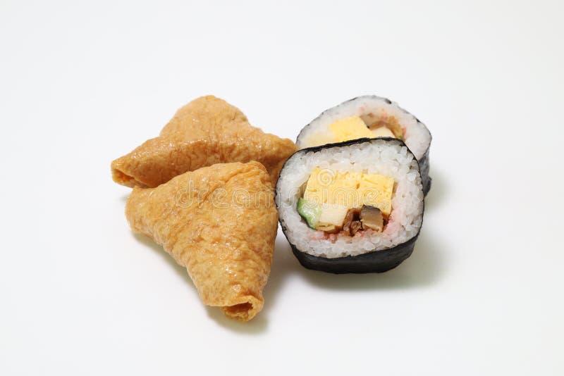 Les sushi ont appelé le zushi de sukeroku au Japon photographie stock libre de droits