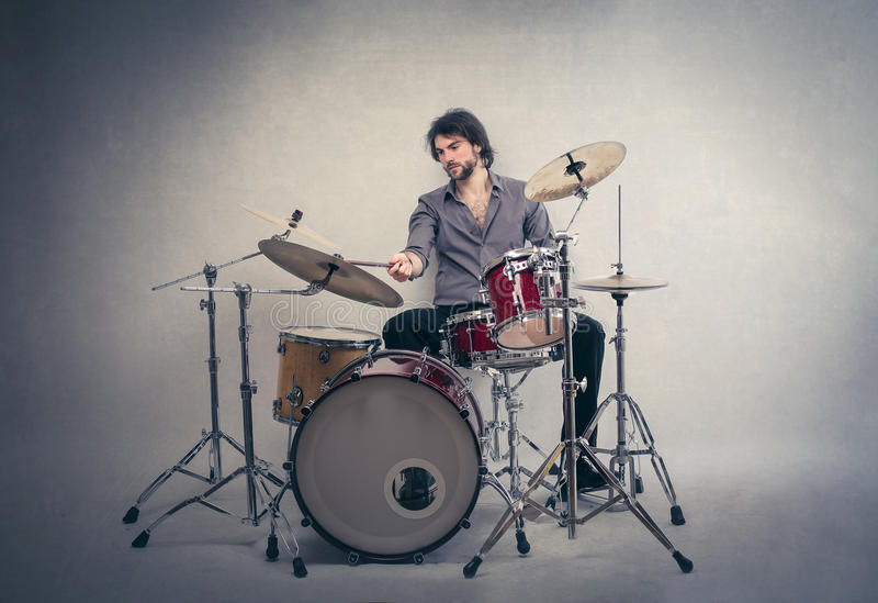Les tambours image stock