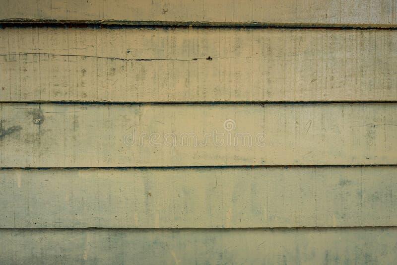 Les textures de fond ou les vieux papiers peints en bois ont étendu l'horizontal et le vert clair peints dans le rétro style photo stock