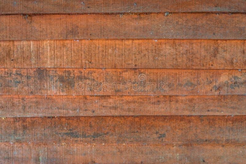 Les textures de fond ou les vieux papiers peints en bois ont ?tendu l'horizontal et orange-clair dans le r?tro style image stock