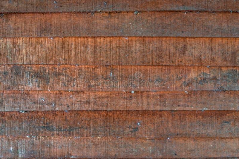 Les textures de fond ou les vieux papiers peints en bois ont ?tendu l'horizontal et orange-clair dans le r?tro style photos libres de droits