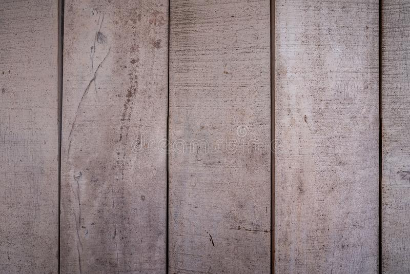 Les textures de fond ou les vieux papiers peints en bois ont ?tendu le vertical et gris et brun clair peint dans le r?tro style photo stock