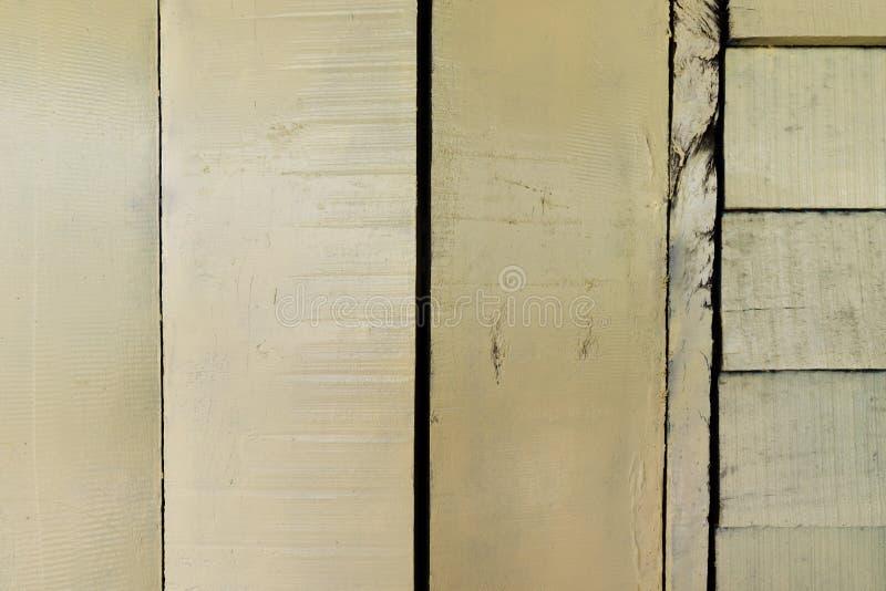 Les textures de fond ou les vieux papiers peints en bois ont ?tendu le vertical et horizontal, jaune-clair peint dans le r?tro st photo stock