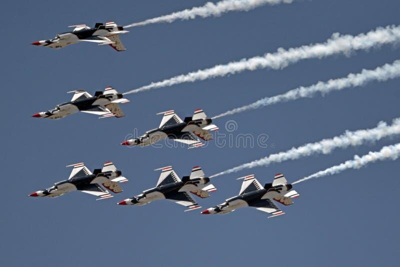 Les Thunderbirds photos libres de droits