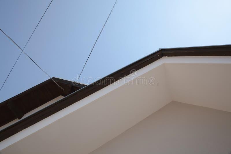Les toits de Chambre soustraient images stock
