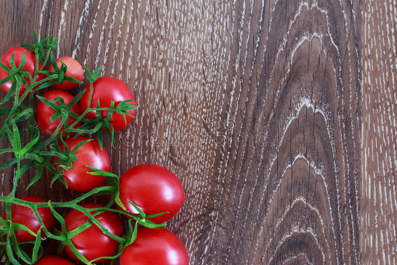 Les tomates rouges photo stock