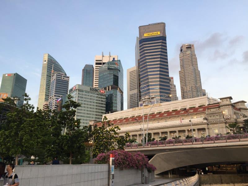 Les tombolas placent à Singapour photos stock