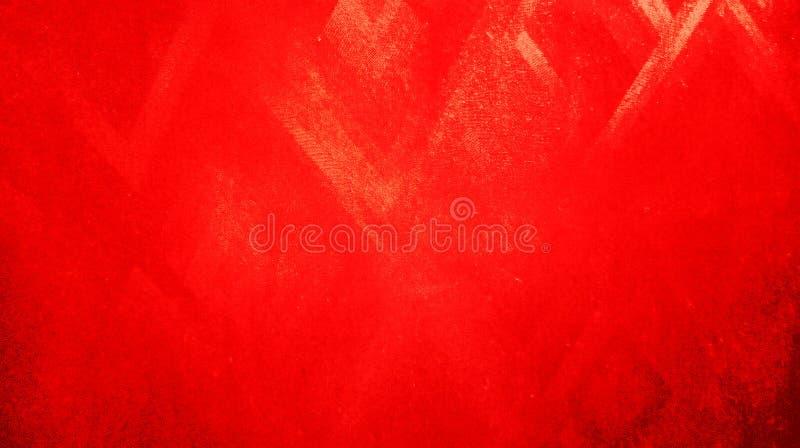Les triangles rouges rouges de résumé ont reflété la texture avec le papier peint de fond image stock
