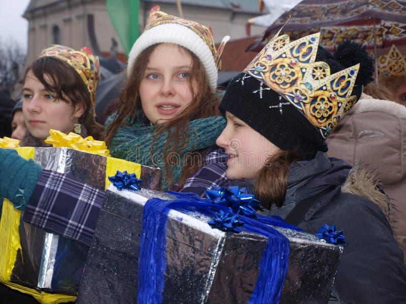 Les trois Rois Suite, Lublin, Pologne images stock