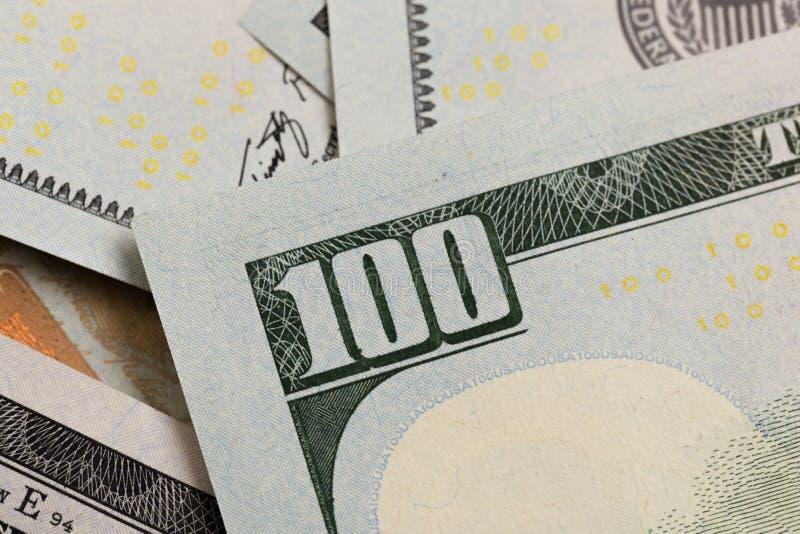 Les USA cent éléments du dollar, macro superbe, se ferment vers le haut de la photo photo stock