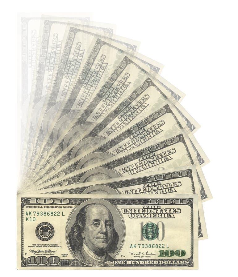 Les USA Dolars photo stock