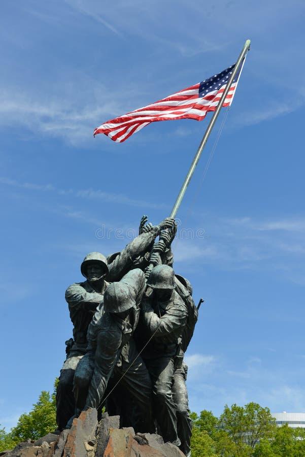Les USA Marine Corps Memorial dans le Washington DC Etats-Unis images stock
