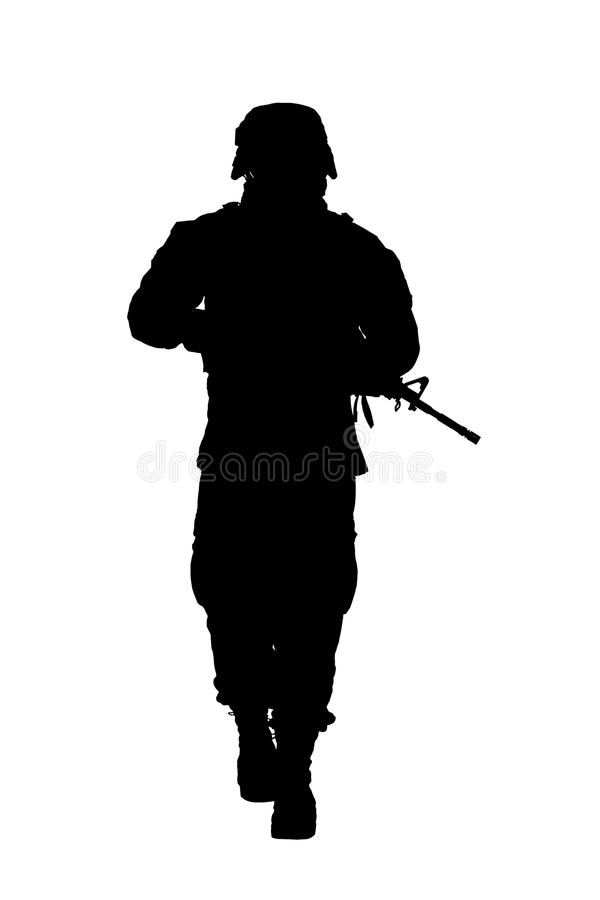 Les USA Marine Soldier photos libres de droits