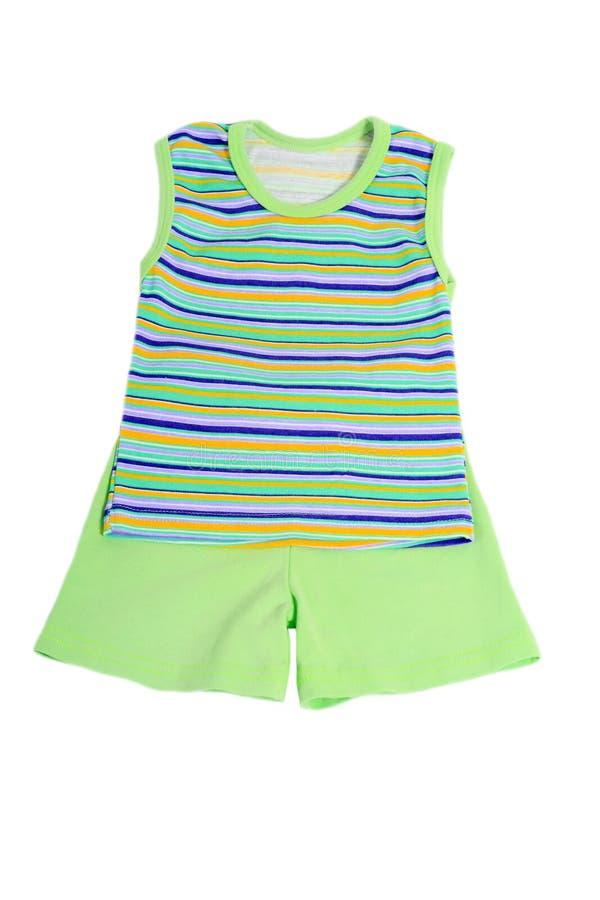 Les vêtements des enfants photographie stock