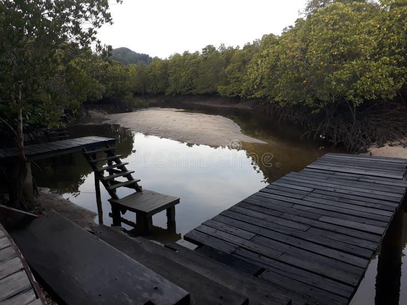 Les vacances d'hôtel de tourisme détendent le khophayam photo stock