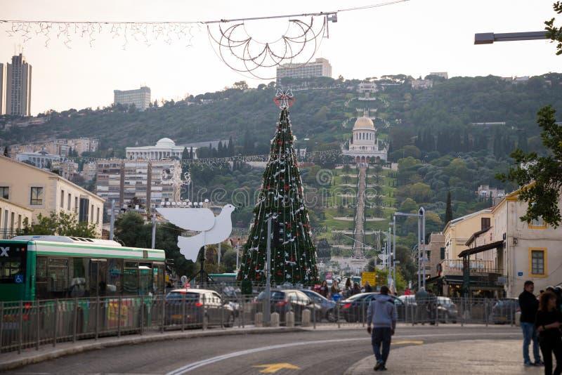 Les vacances des vacances à Haïfa photos stock