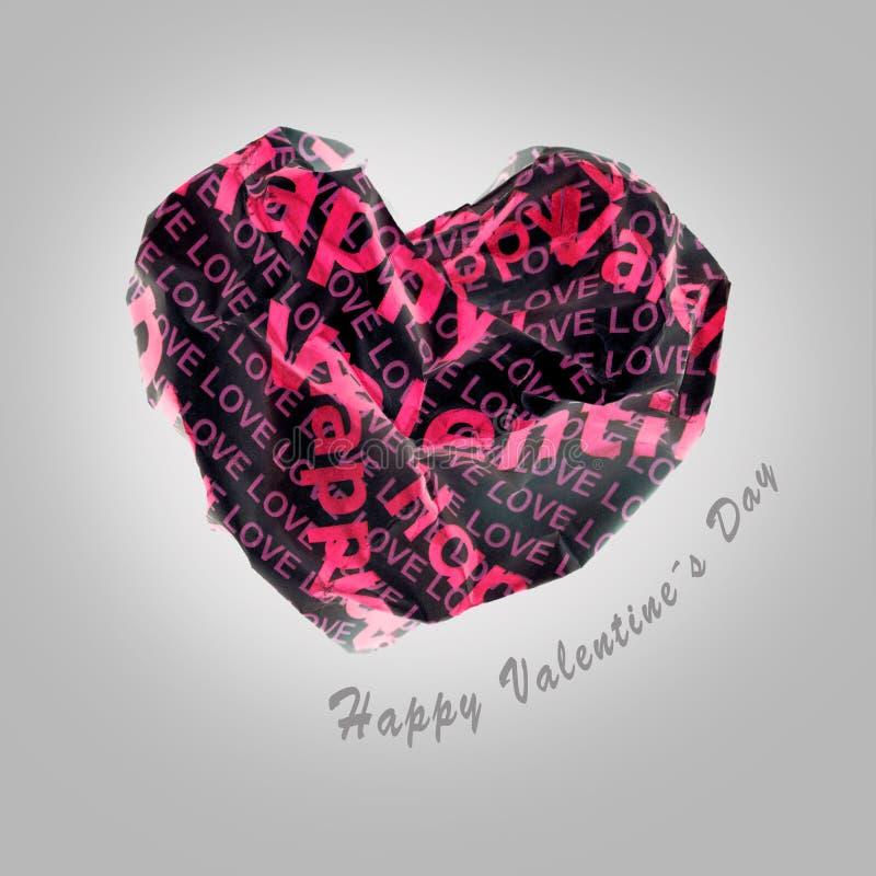 Les valentines sexy empaquettent le coeur rouge sur le fond gris images stock