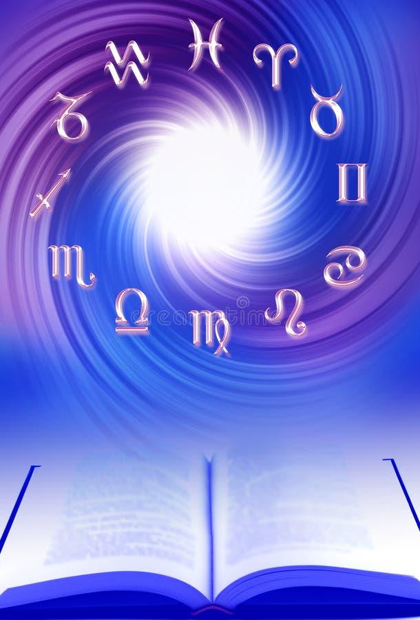 Les van astrologie royalty-vrije illustratie