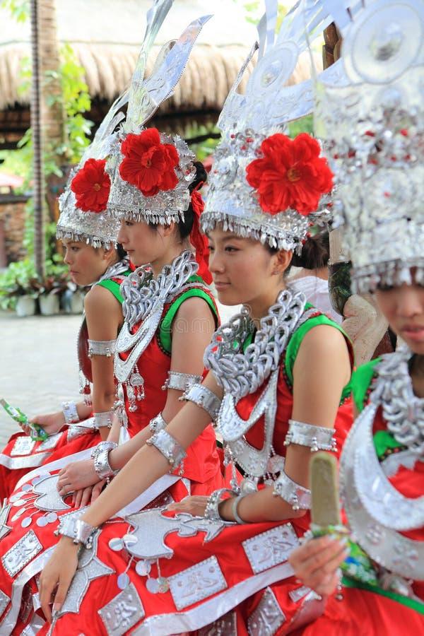 Les vies de Li d'indigènes d'île de Hainan image stock