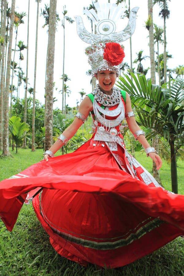 Les vies de Li d'indigènes d'île de Hainan photos stock