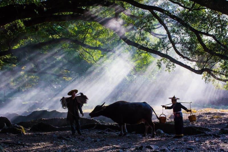 Les villages de montagne photo libre de droits