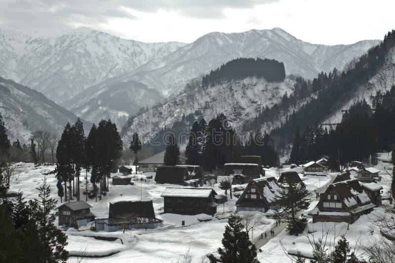 Les villages historiques de Gokayama photos libres de droits