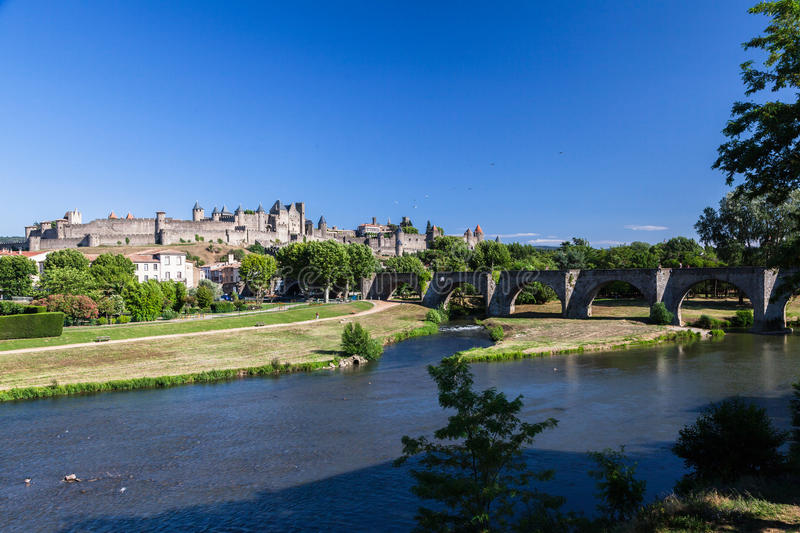 Carcassonne France images stock