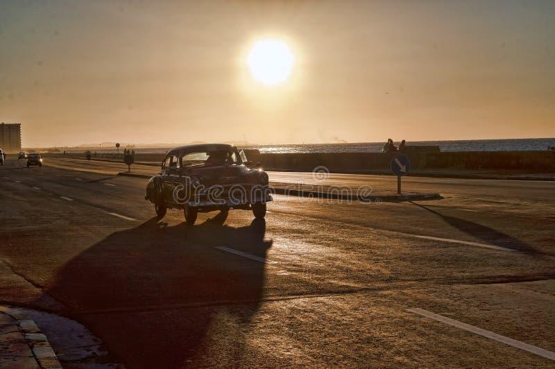 Les voitures classiques du Cuba photos stock