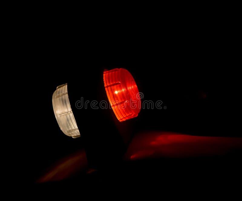 Les voyants de signalisation de véhicules images libres de droits