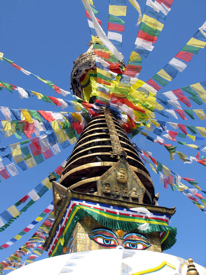 Les yeux de Buda images libres de droits
