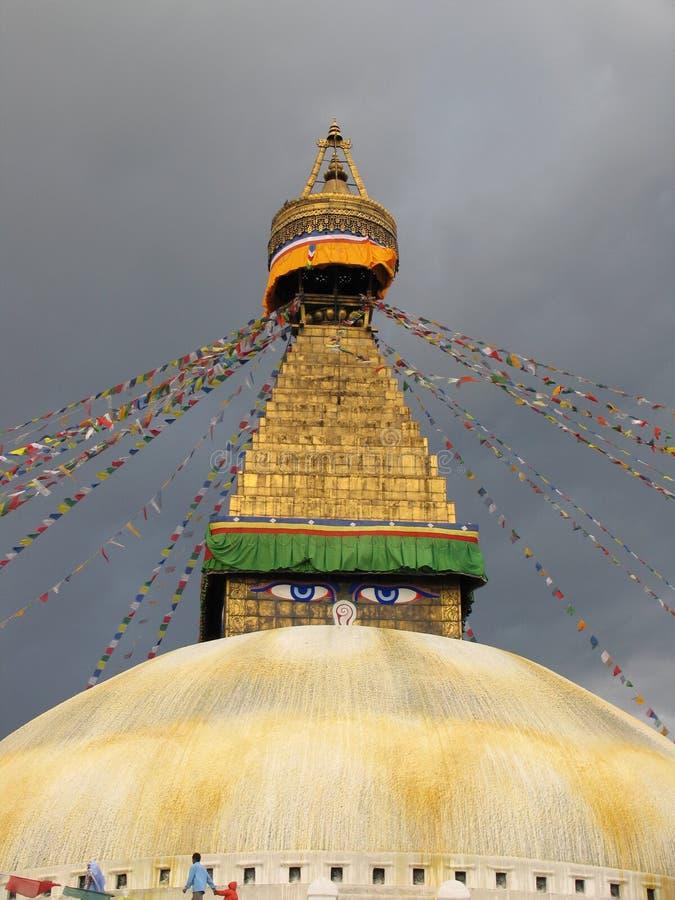 Les yeux de Buda images stock