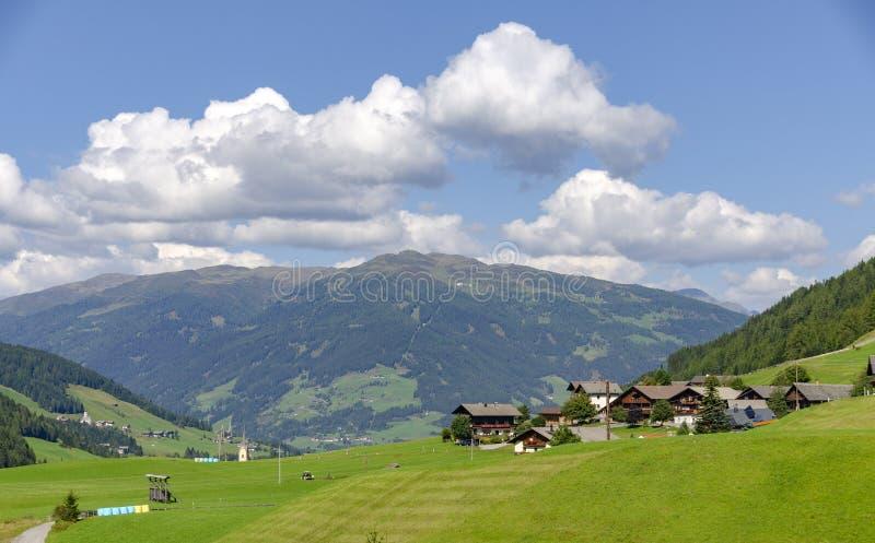 Lesach dolina Thurntaler i góra zdjęcia royalty free