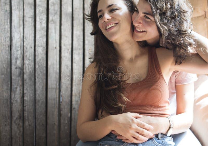 Reife Lesben zusammen