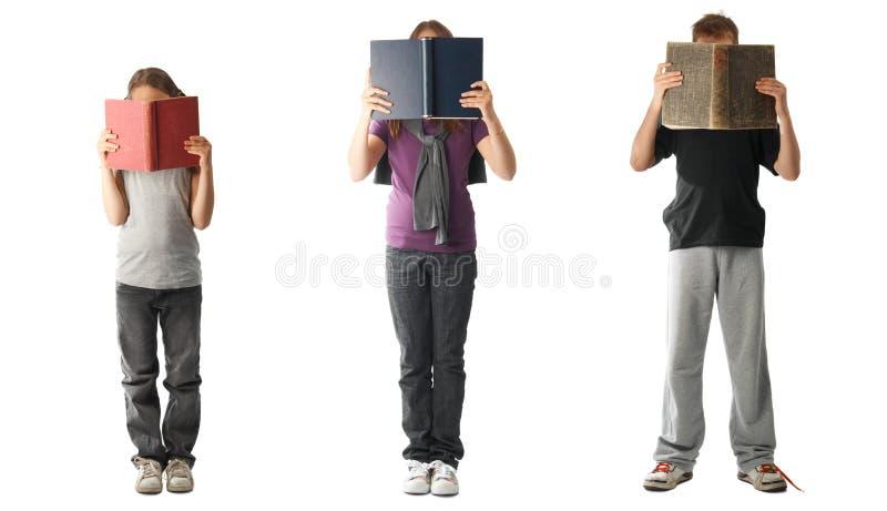 Lesebücher lizenzfreie stockfotografie